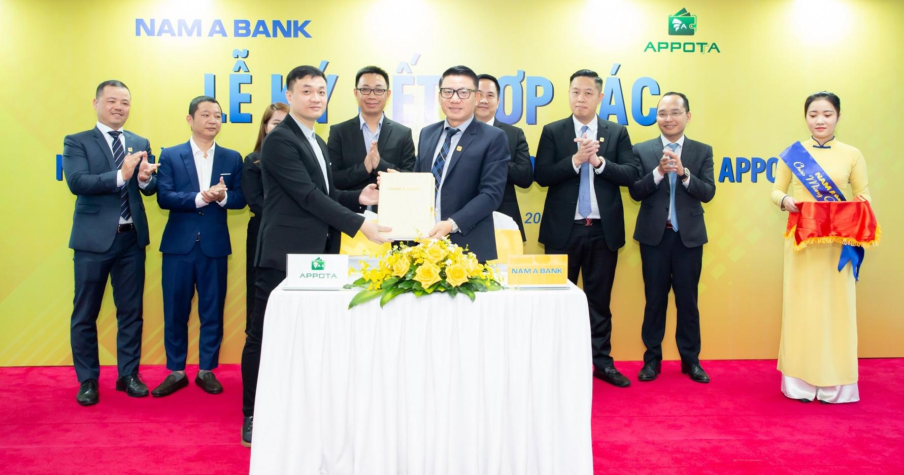Nam A Bank – ngân hàng Việt đầu tiên liên kết cùng ví điện tử AppotaPay - Ảnh 1.