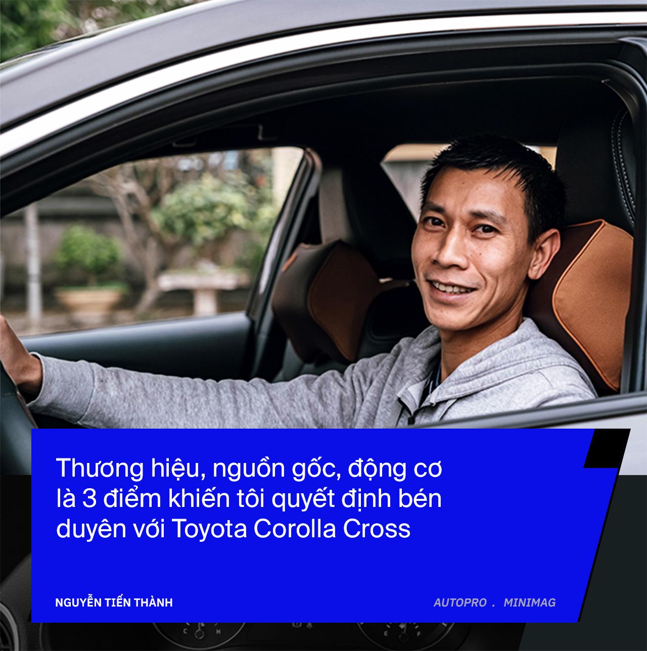 Bỏ cọc Kia Seltos để mua Toyota Corolla Cross bản rẻ nhất, người dùng đánh giá sau 3 tháng: 'Đủ những thứ tôi cần' - Ảnh 4.
