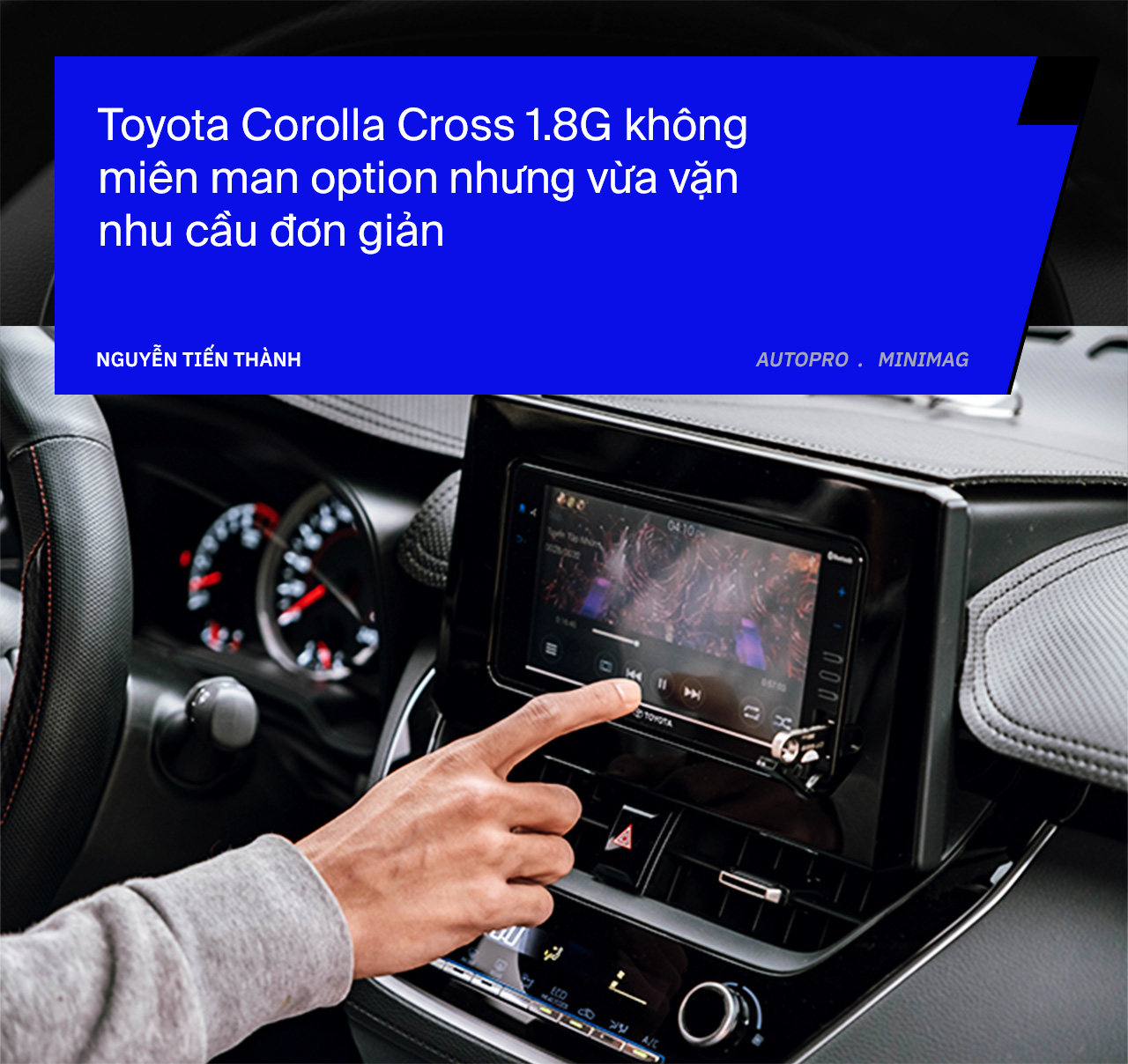 Bỏ cọc Kia Seltos để mua Toyota Corolla Cross bản rẻ nhất, người dùng đánh giá sau 3 tháng: 'Đủ những thứ tôi cần' - Ảnh 7.