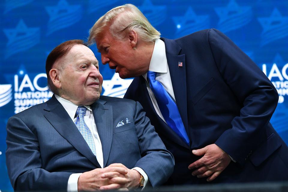 """Sản nghiệp """"khủng"""" của vua sòng bạc Sheldon Adelson vừa qua đời - Ảnh 1."""