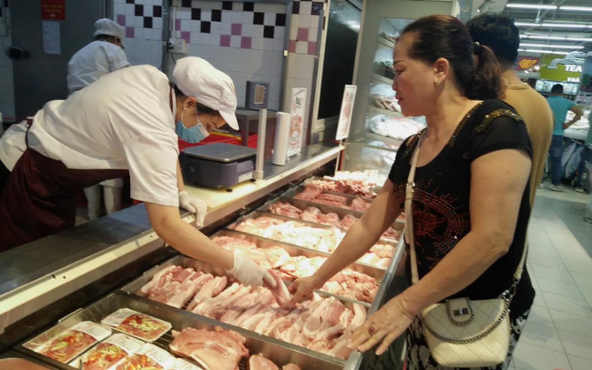 TP HCM: 4 doanh nghiệp tham gia bình ổn giá thịt lợn dịp Tết Nguyên đán Tân Sửu 2021 - Ảnh 1.