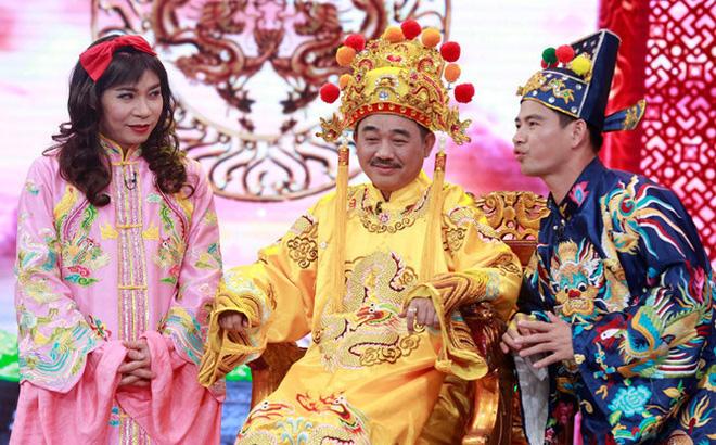Nghệ sĩ Quốc Khánh được yêu mến với vai diễn Ngọc Hoàng.