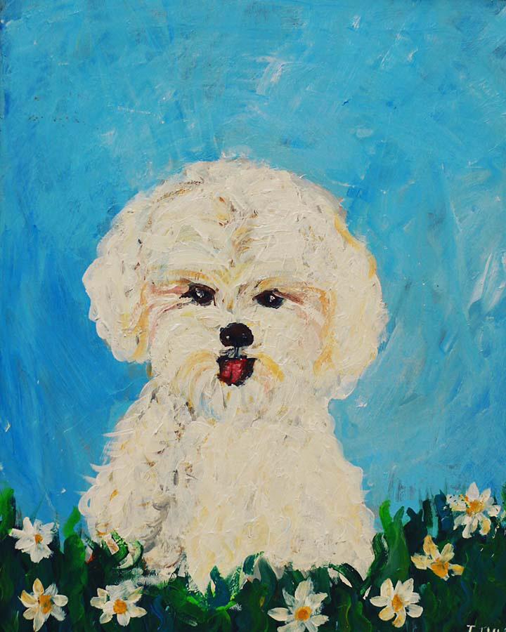 40 bức tranh của 6 em nhỏ mắc chứng tự kỷ được triển lãm tại Hà Nội - Ảnh 2.