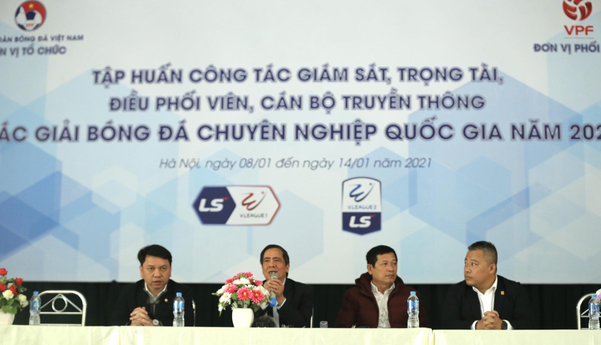 Trưởng ban trọng tài Dương Văn Hiền: 'Sai sót là không tránh khỏi' - Ảnh 2.