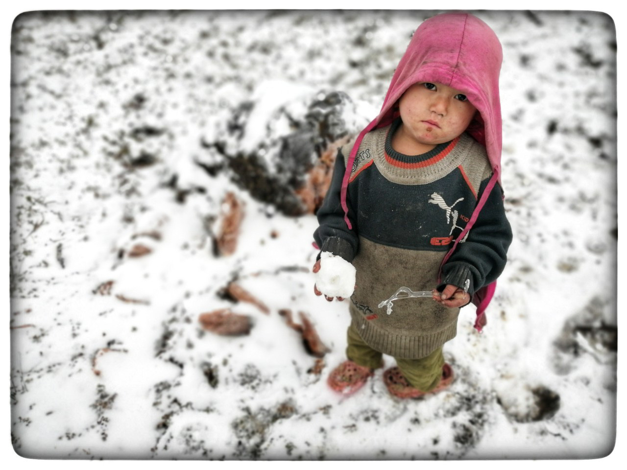 Lào Cai: Lạnh -3 độ C, Y Tý ngày tuyết rơi như chiếc tủ lạnh khổng lồ, đẹp như trời Âu - Ảnh 17.
