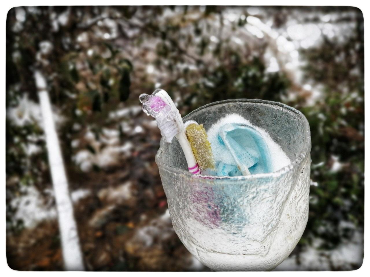 Lào Cai: Lạnh -3 độ C, Y Tý ngày tuyết rơi như chiếc tủ lạnh khổng lồ, đẹp như trời Âu - Ảnh 10.