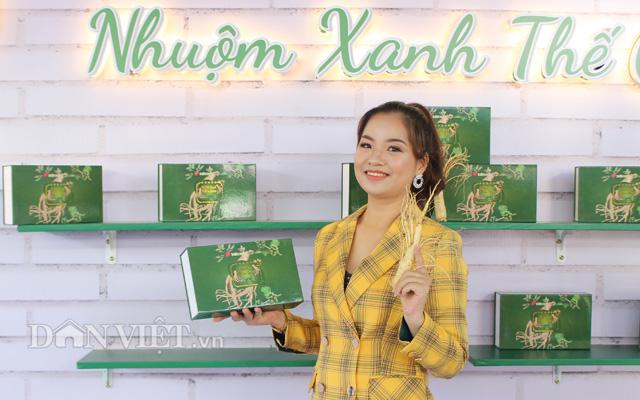 Sản phẩm cà phê xanh nhân sâm của công ty Thiên Nhiên Việt