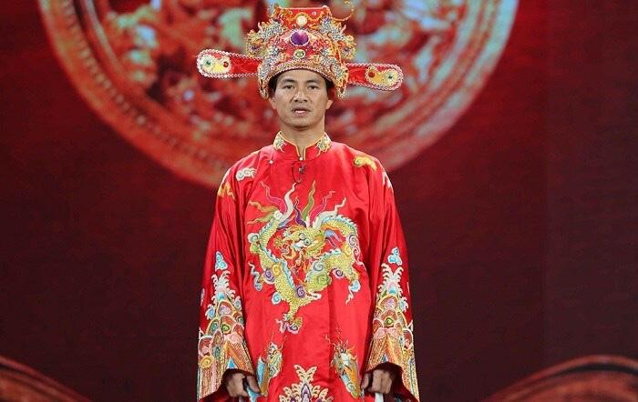 Nghệ sĩ Xuân Bắc thủ vai Nam Tào trong Táo quân suốt 16 năm vừa qua.