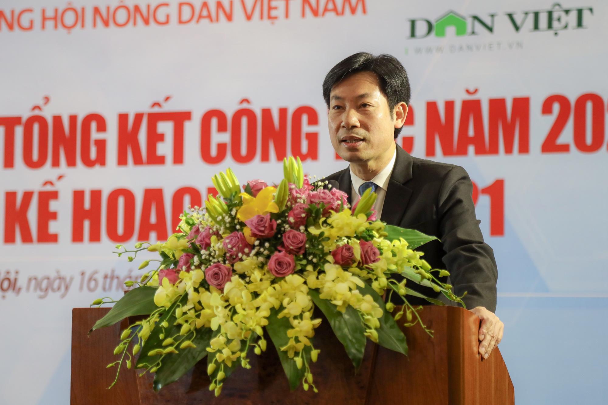 Phó Chủ tịch T.Ư Hội NDVN: Báo NTNN sát cánh, đồng hành cùng nông dân trên mọi nẻo đường - Ảnh 1.