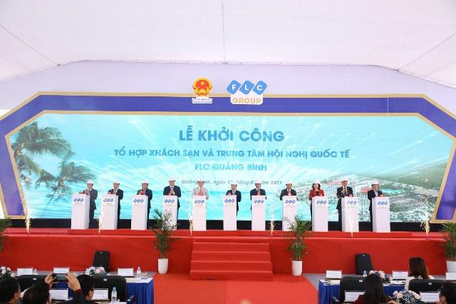 Quảng Bình: Tập đoàn FLC khởi công 2 hạng mục tại đại dự án lớn nhất miền Trung - Ảnh 1.