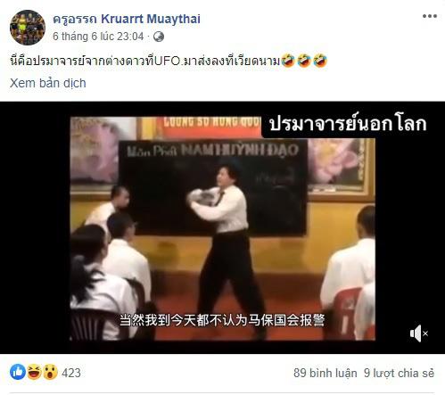 Đất nước của Muay Thái mỉa mai võ công truyền điện phái Nam Huỳnh Đạo ra sao? - Ảnh 1.