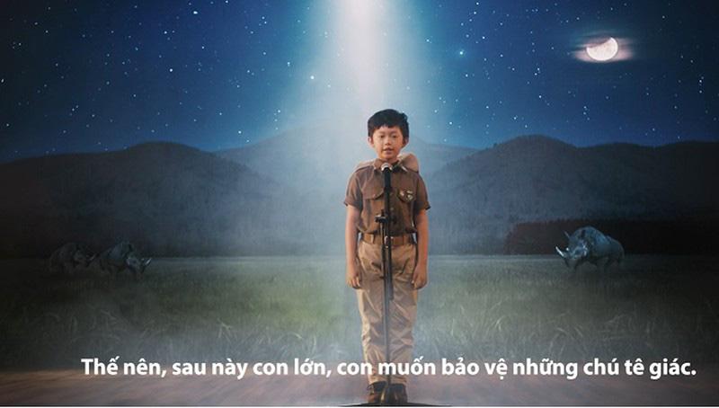"""""""Mai sau con lớn"""" - đoạn phim lay động trái tim mang thông điệp chấm dứt nạn săn bắt tê giác - Ảnh 2."""