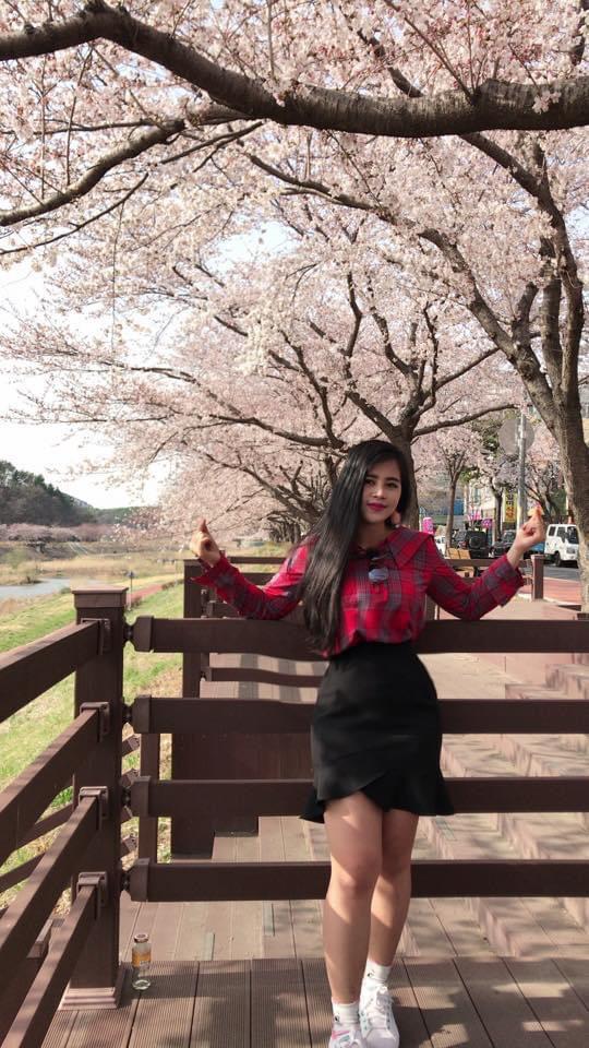Hot girl Lee Jihye - cô gái vàng trong lĩnh vực làm đẹp - Ảnh 1.