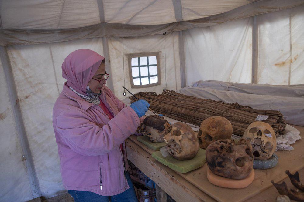Cận cảnh xác ướp hơn 3.000 năm tuổi ở Ai Cập - Ảnh 3.