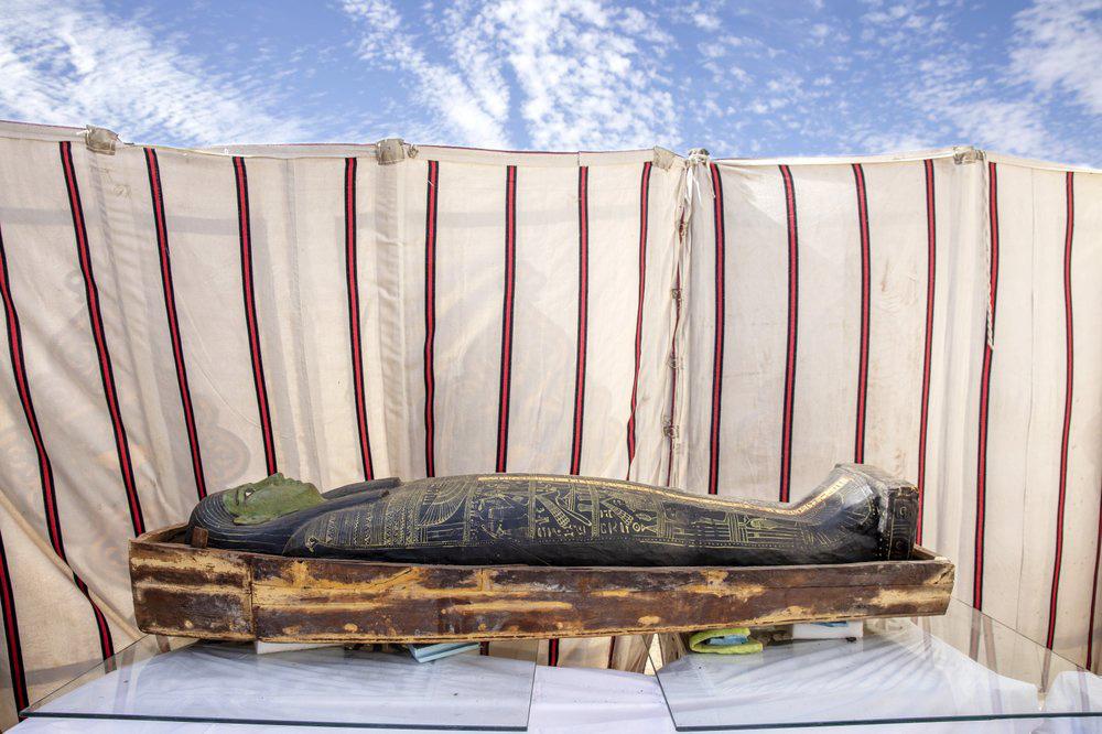 Cận cảnh xác ướp hơn 3.000 năm tuổi ở Ai Cập - Ảnh 4.