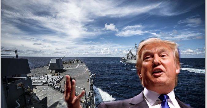Trump chơi ván bài cuối với Trung Quốc làm nóng Biển Đông trước thềm Biden nhậm chức - Ảnh 1.