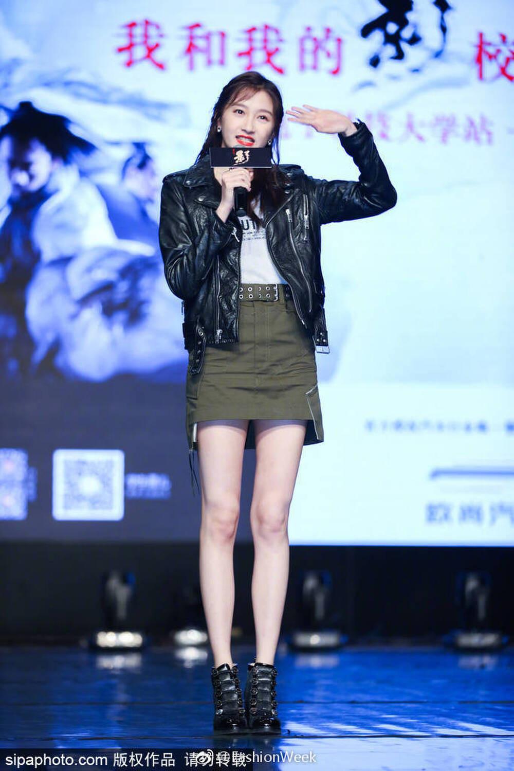 Tiểu Hoa Đán 9x Quan Hiểu Đồng khoe chân dài 108 cm - Ảnh 10.
