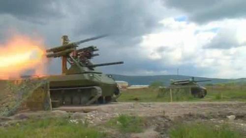Uran-9 - Cỗ xe chiến đấu robot nguy hiểm nhất thế giới của Nga - Ảnh 3.