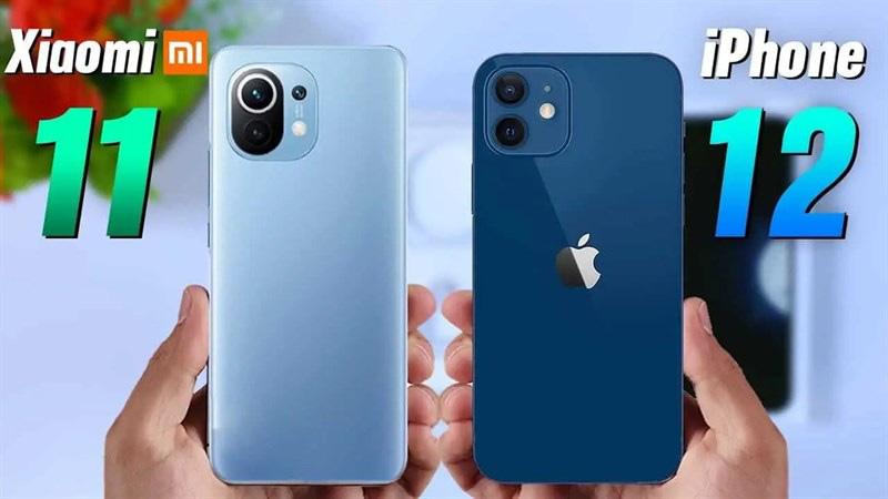 Xiaomi Mi 11 giá siêu mềm, đặt cạnh iPhone 12 ra sao? - Ảnh 1.