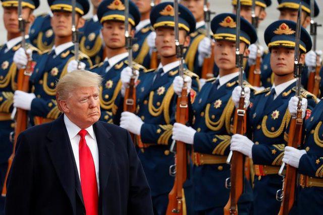 Những bức ảnh ghi dấu ấn của Tổng thống Mỹ Donald Trump trên chính trường thế giới - Ảnh 12.