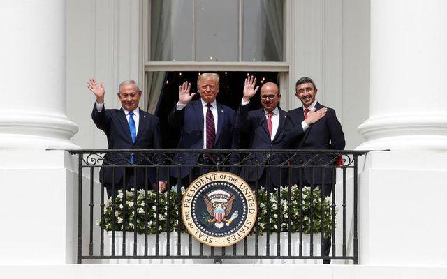 Những bức ảnh ghi dấu ấn của Tổng thống Mỹ Donald Trump trên chính trường thế giới - Ảnh 18.
