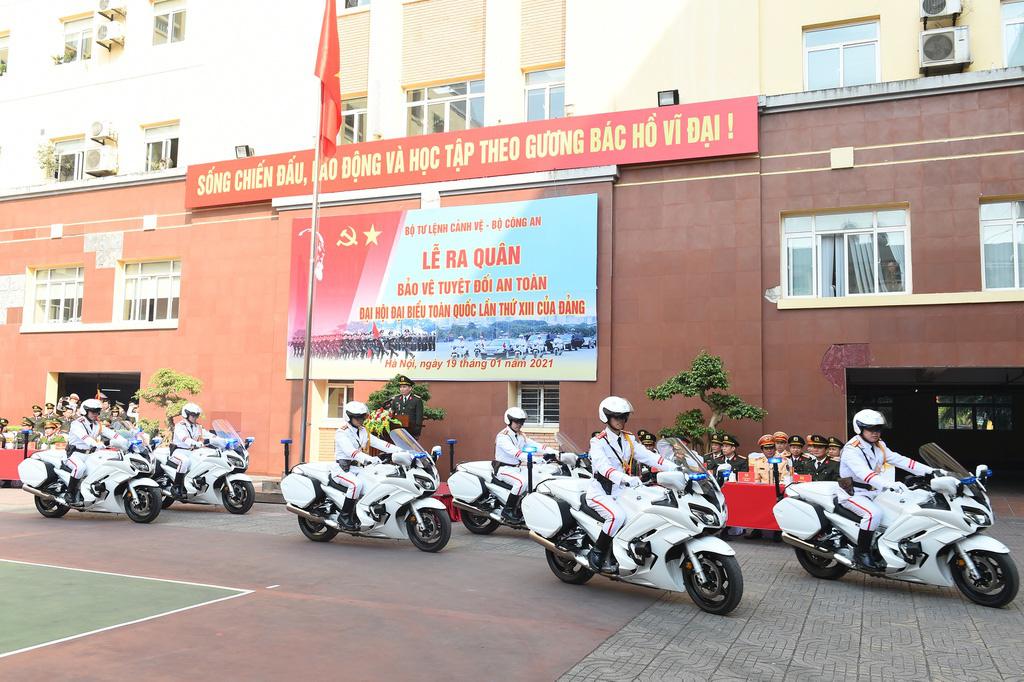 Bộ Tư lệnh Cảnh vệ ra quân bảo vệ Đại hội Đảng XIII - Ảnh 3.