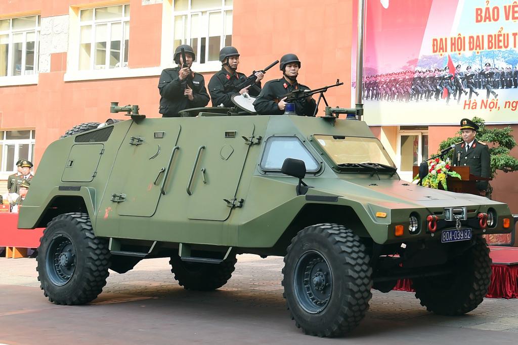 Bộ Tư lệnh Cảnh vệ ra quân bảo vệ Đại hội Đảng XIII - Ảnh 4.