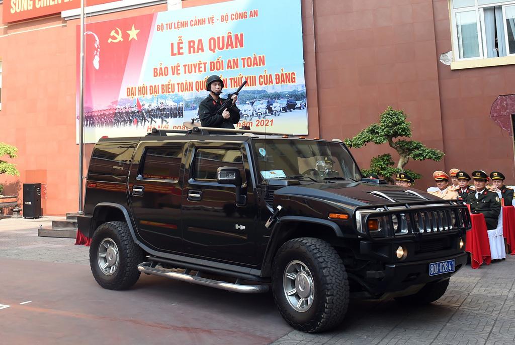 Bộ Tư lệnh Cảnh vệ ra quân bảo vệ Đại hội Đảng XIII - Ảnh 5.