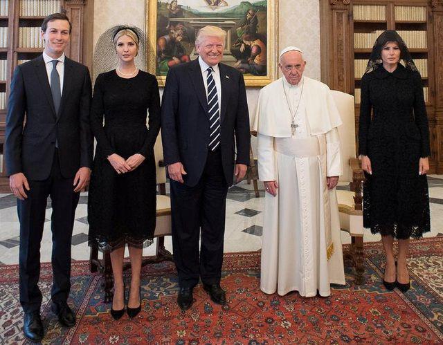 Những bức ảnh ghi dấu ấn của Tổng thống Mỹ Donald Trump trên chính trường thế giới - Ảnh 6.