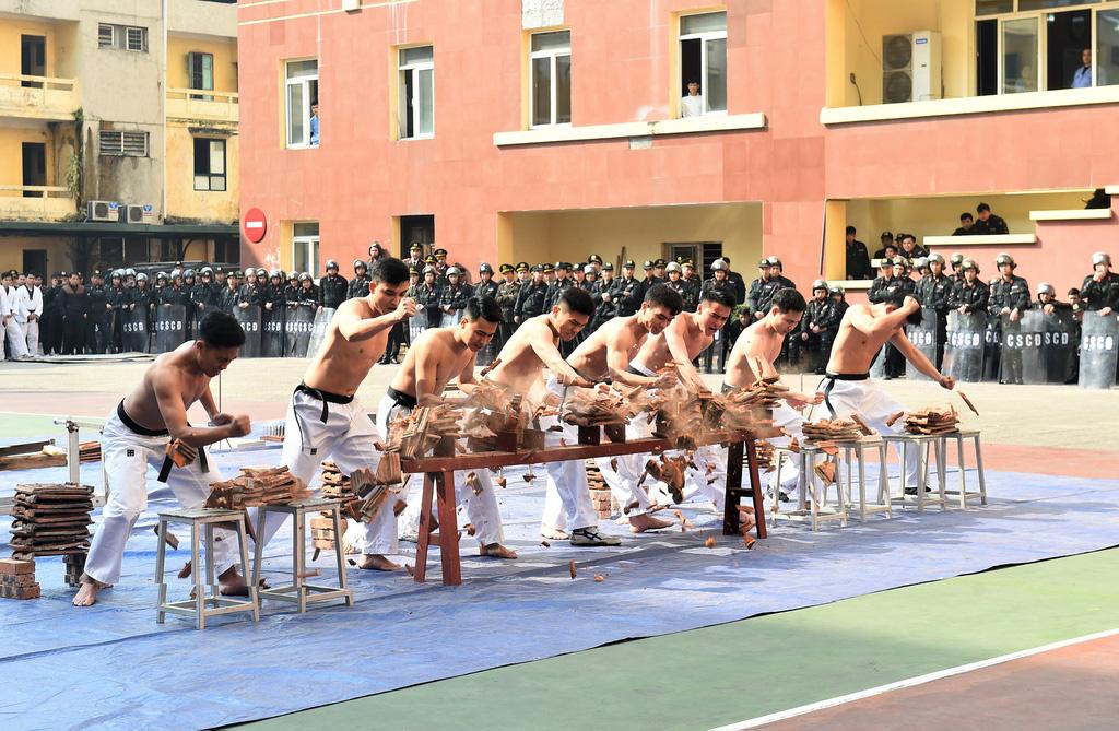 Bộ Tư lệnh Cảnh vệ ra quân bảo vệ Đại hội Đảng XIII - Ảnh 7.