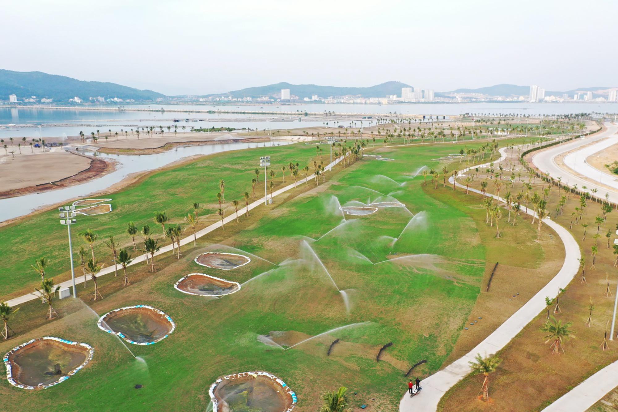 Dự án sân golf lớn nhất Quảng Ninh dự kiến khai thác trong tháng 6/2021 - Ảnh 3.