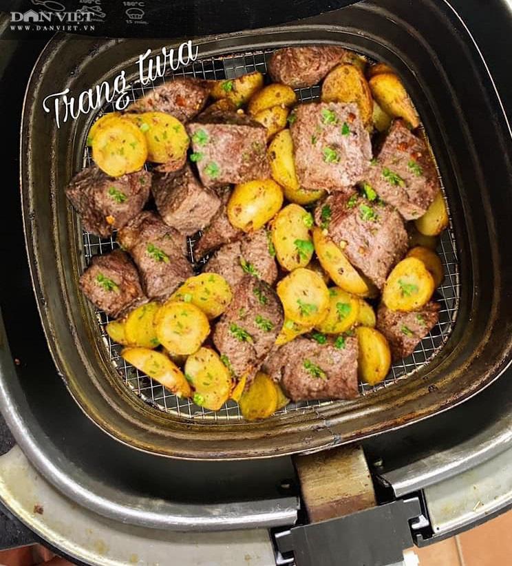 Gợi ý 3 món ngon từ thịt bò chế biến bằng nồi chiên không dầu - Ảnh 4.