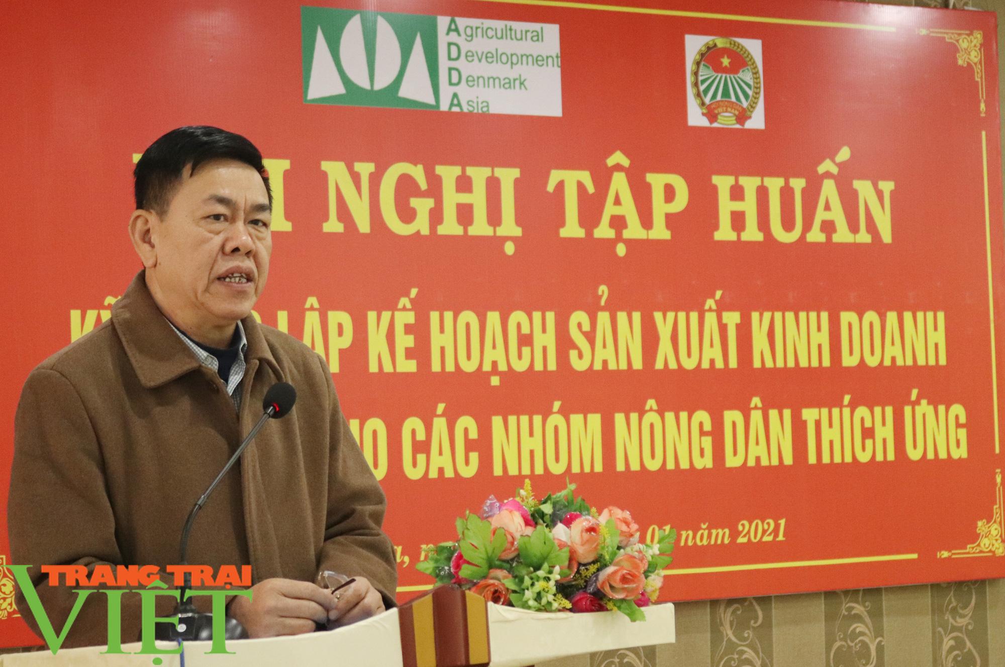 HND Sơn La tập huấn kỹ năng lập kế hoạch sản xuất kinh doanh cho nông dân  - Ảnh 2.