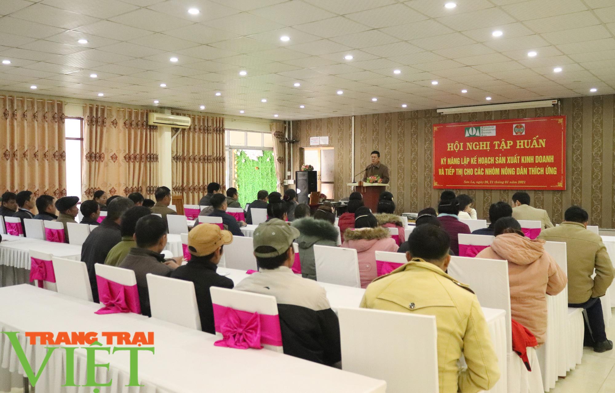HND Sơn La tập huấn kỹ năng lập kế hoạch sản xuất kinh doanh cho nông dân  - Ảnh 1.