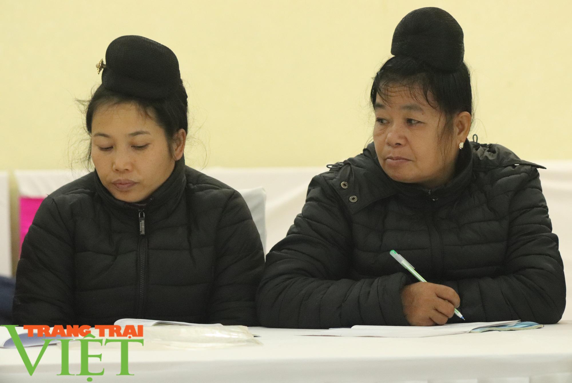 HND Sơn La tập huấn kỹ năng lập kế hoạch sản xuất kinh doanh cho nông dân  - Ảnh 4.