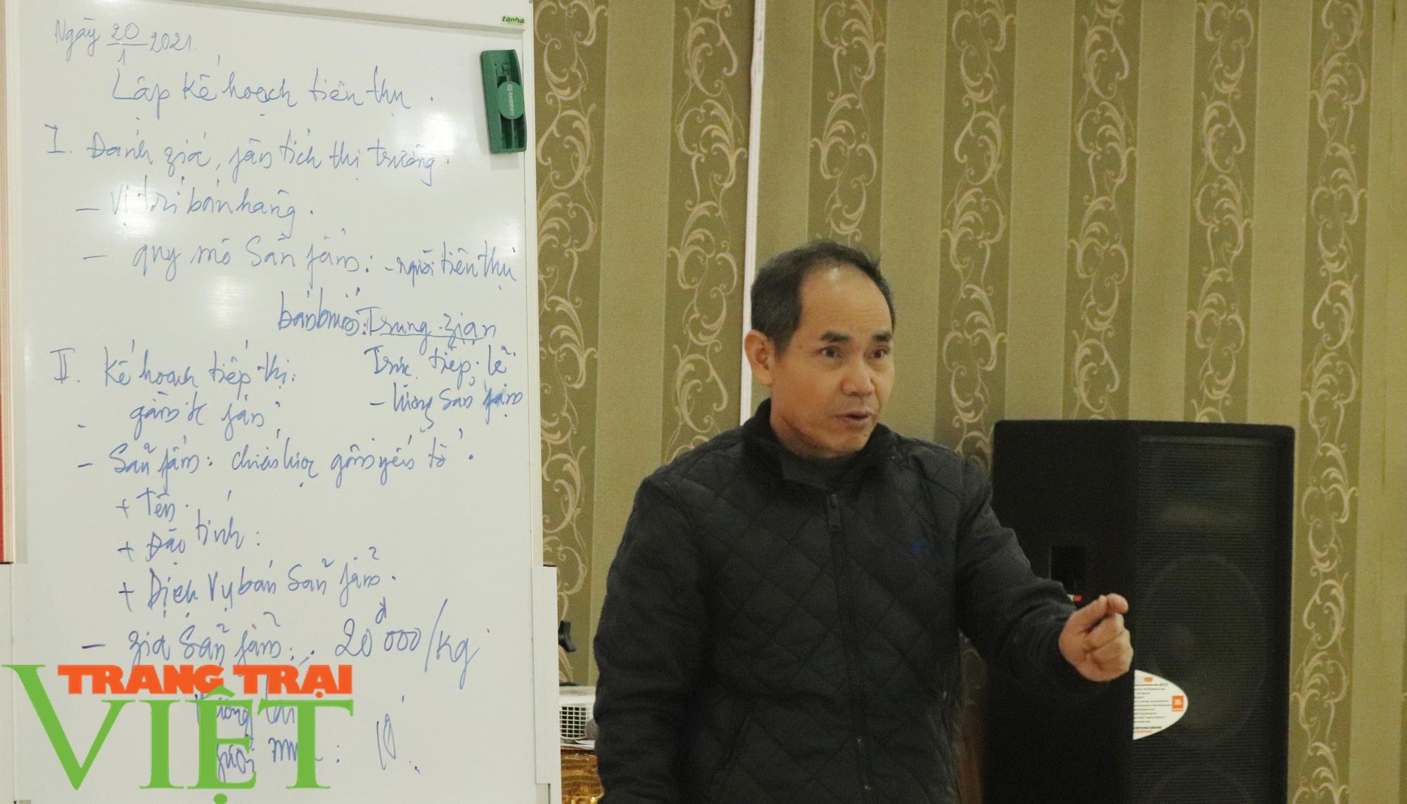 HND Sơn La tập huấn kỹ năng lập kế hoạch sản xuất kinh doanh cho nông dân  - Ảnh 3.