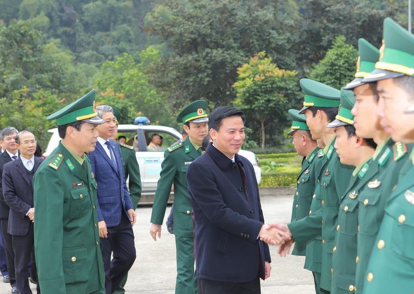 Thanh Hóa: Bí thư Tỉnh ủy thăm kiểm tra tình hình sản xuất và đời sống Nhân dân huyện biên giới Quan Sơn - Ảnh 1.