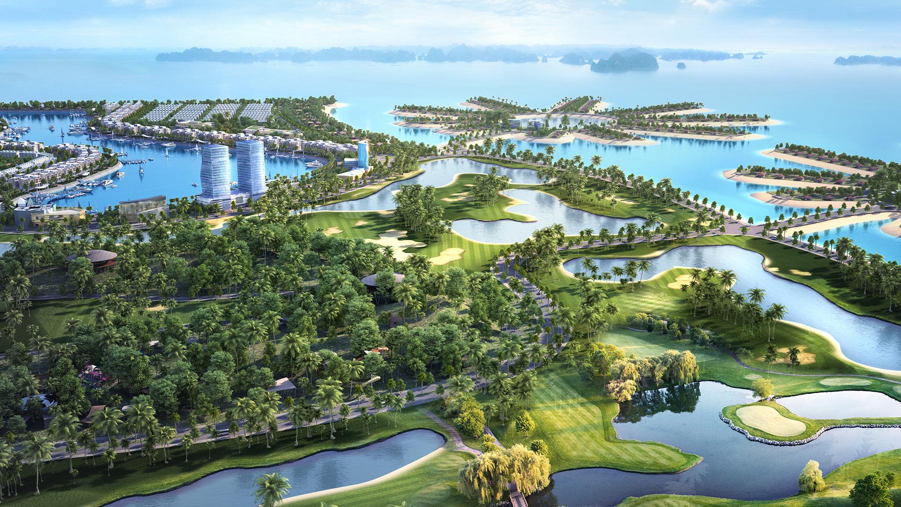 Dự án sân golf lớn nhất Quảng Ninh dự kiến khai thác trong tháng 6/2021 - Ảnh 1.