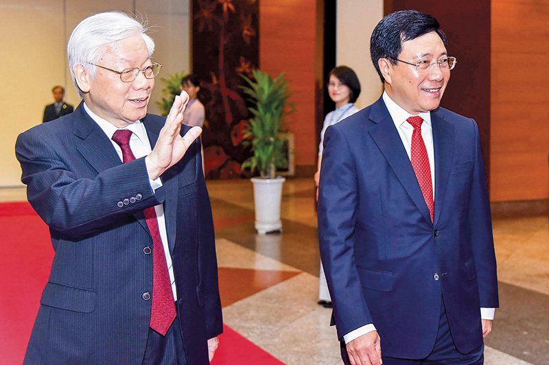 Thành tựu đối ngoại Việt Nam nhiệm kỳ XII: Bài 1: Nâng tầm vị thế quốc gia - Ảnh 2.