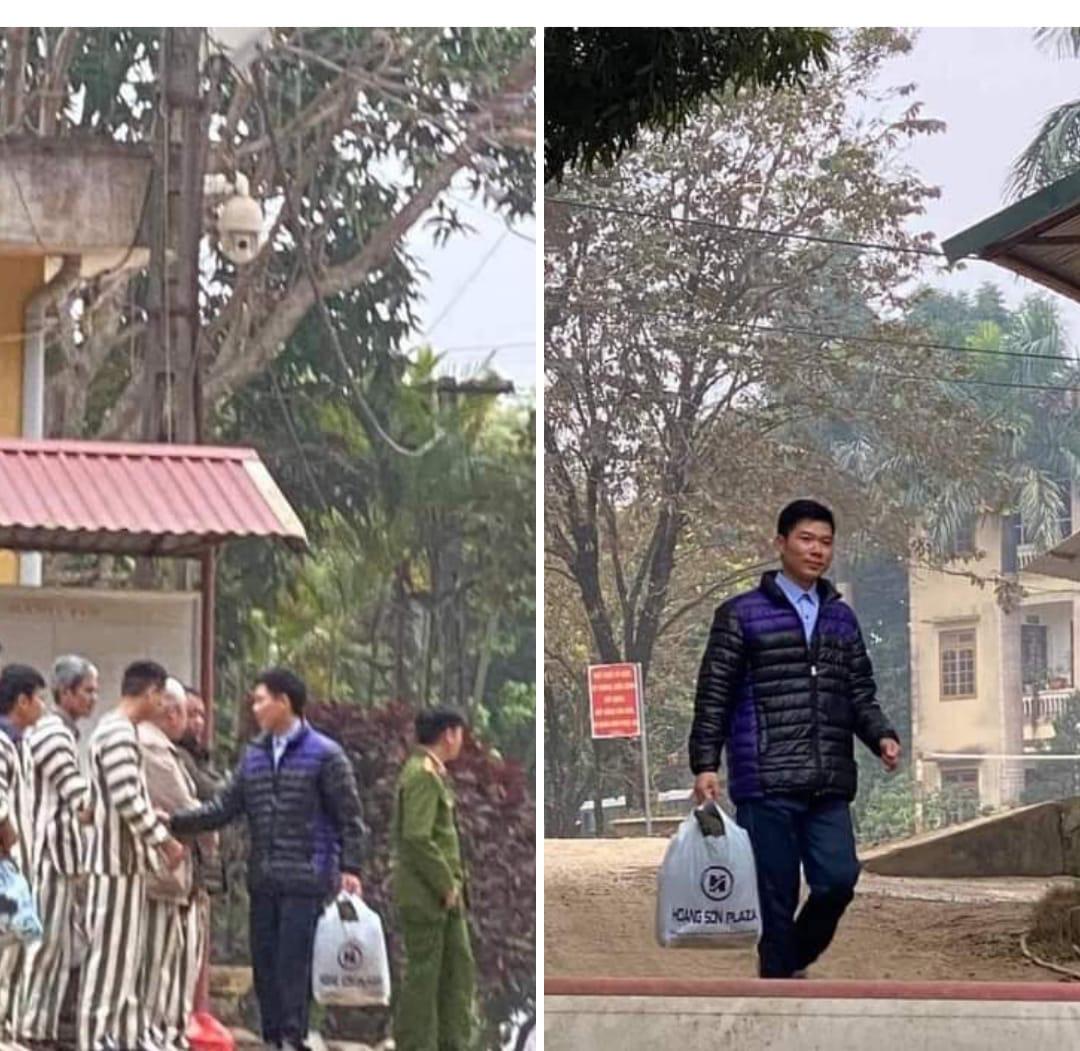 Xúc động hình ảnh cựu bác sĩ Hoàng Công Lương trở về từ trại giam đoàn tụ cùng gia đình - Ảnh 1.