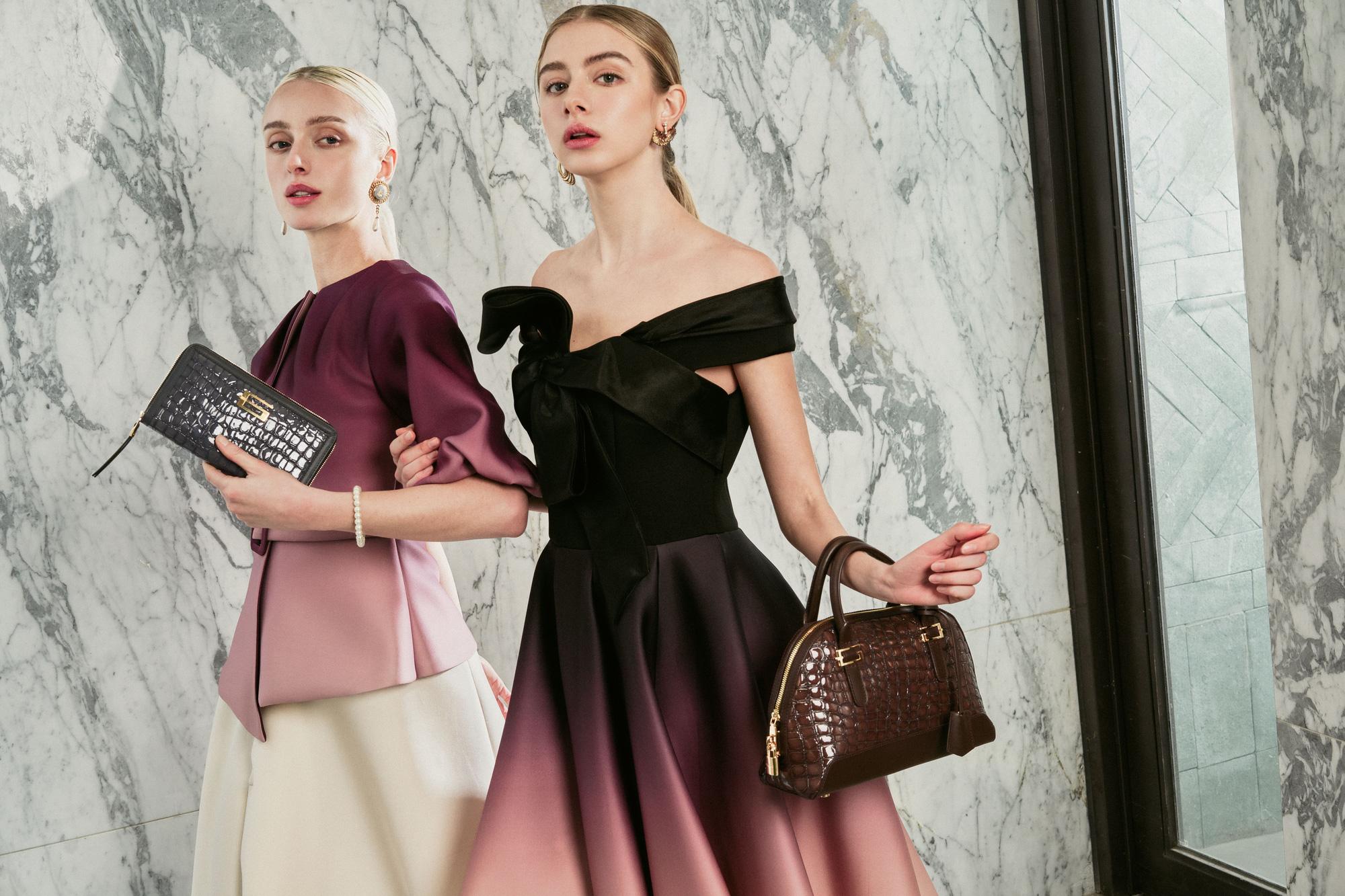 """Sau Fendi, Gucci, nhà thiết kế Francesco Turchi kiến tạo """"Ánh sáng Viễn Đông"""" cho Giovanni - Ảnh 4."""