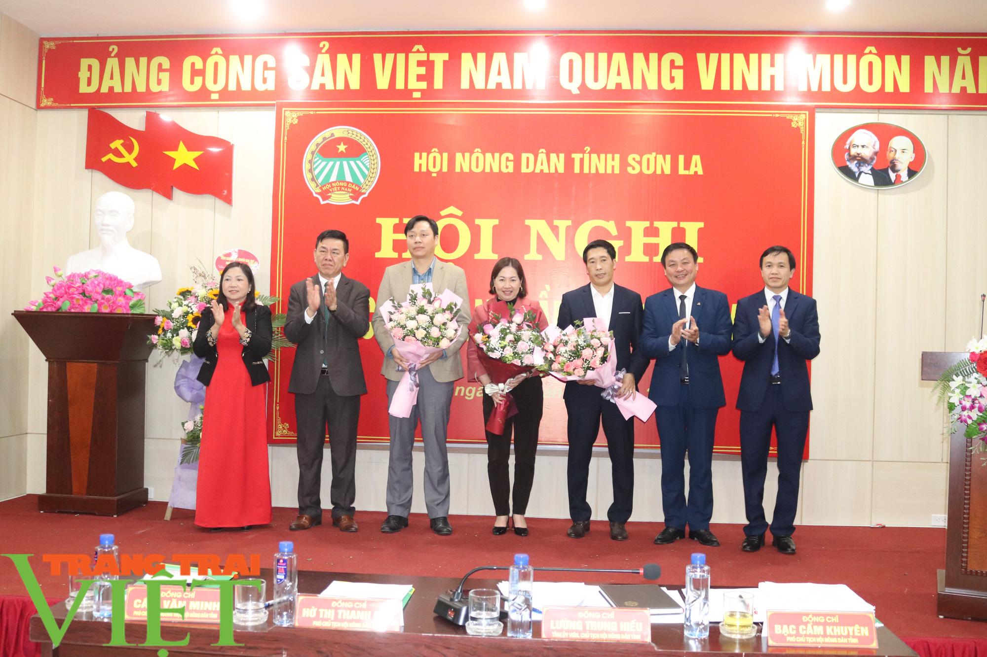 Hội Nông dân tỉnh Sơn La tổ chức Hội nghị Ban Chấp hành Hội Nông dân lần thứ 9, khoá IX - Ảnh 5.