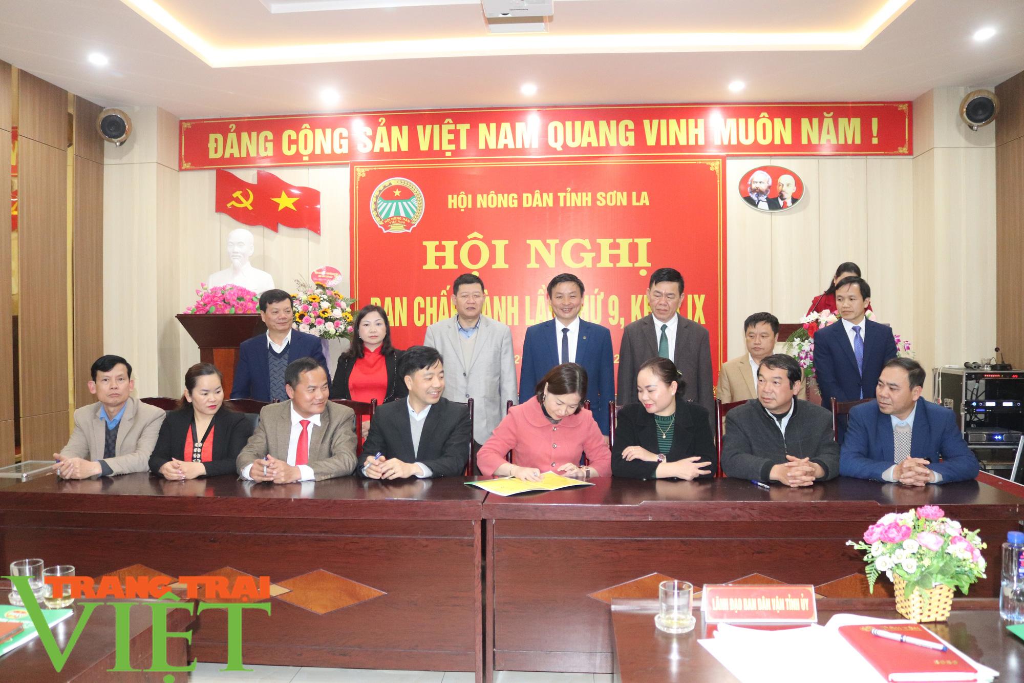 Hội Nông dân tỉnh Sơn La tổ chức Hội nghị Ban Chấp hành Hội Nông dân lần thứ 9, khoá IX - Ảnh 7.