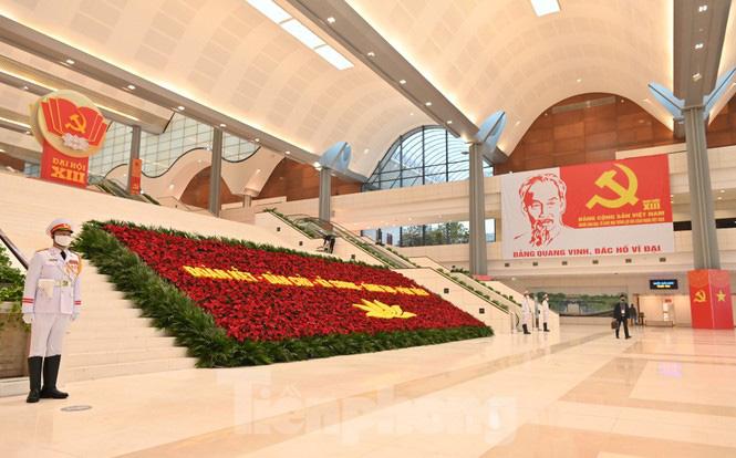 Trung tâm Hội nghị Quốc gia sẵn sàng cho Đại hội Đảng - Ảnh 3.