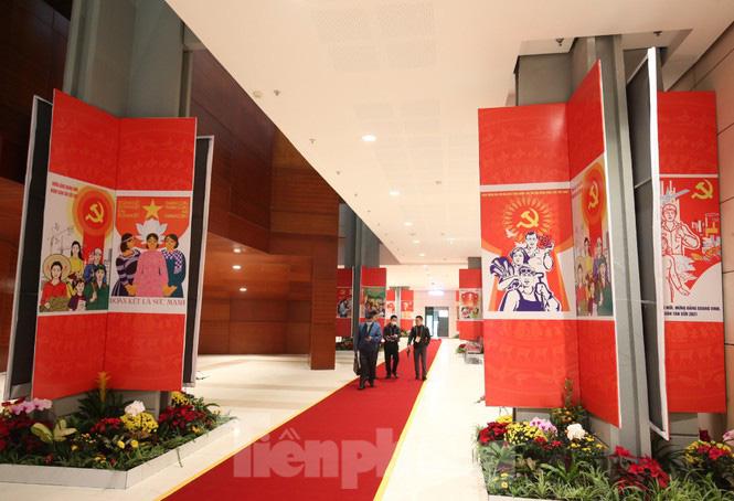 Trung tâm Hội nghị Quốc gia sẵn sàng cho Đại hội Đảng - Ảnh 5.