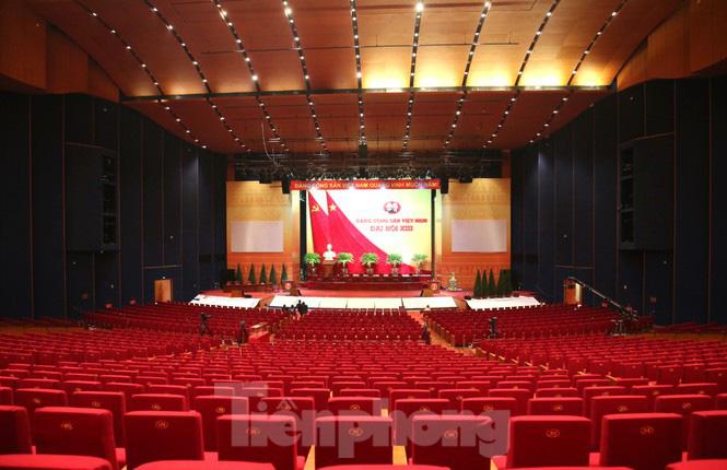 Trung tâm Hội nghị Quốc gia sẵn sàng cho Đại hội Đảng - Ảnh 8.