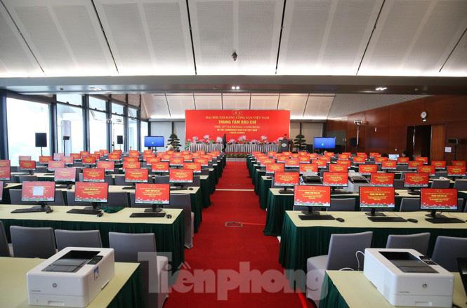 Trung tâm Hội nghị Quốc gia sẵn sàng cho Đại hội Đảng - Ảnh 9.
