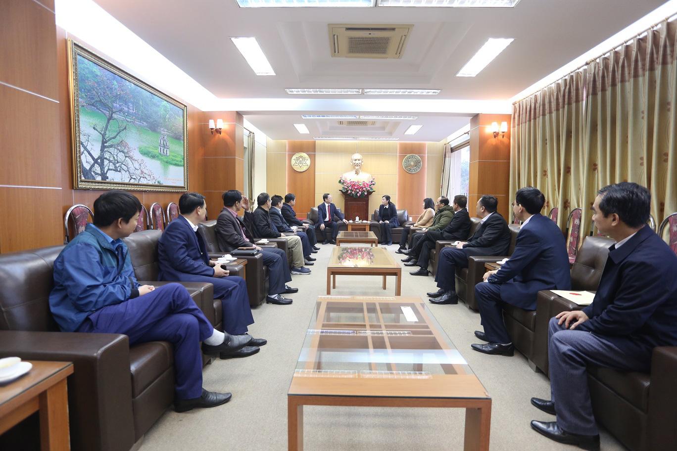 Bộ trưởng Bộ Khoa học và Công nghệ làm việc tại tỉnh Thái Nguyên - Ảnh 10.