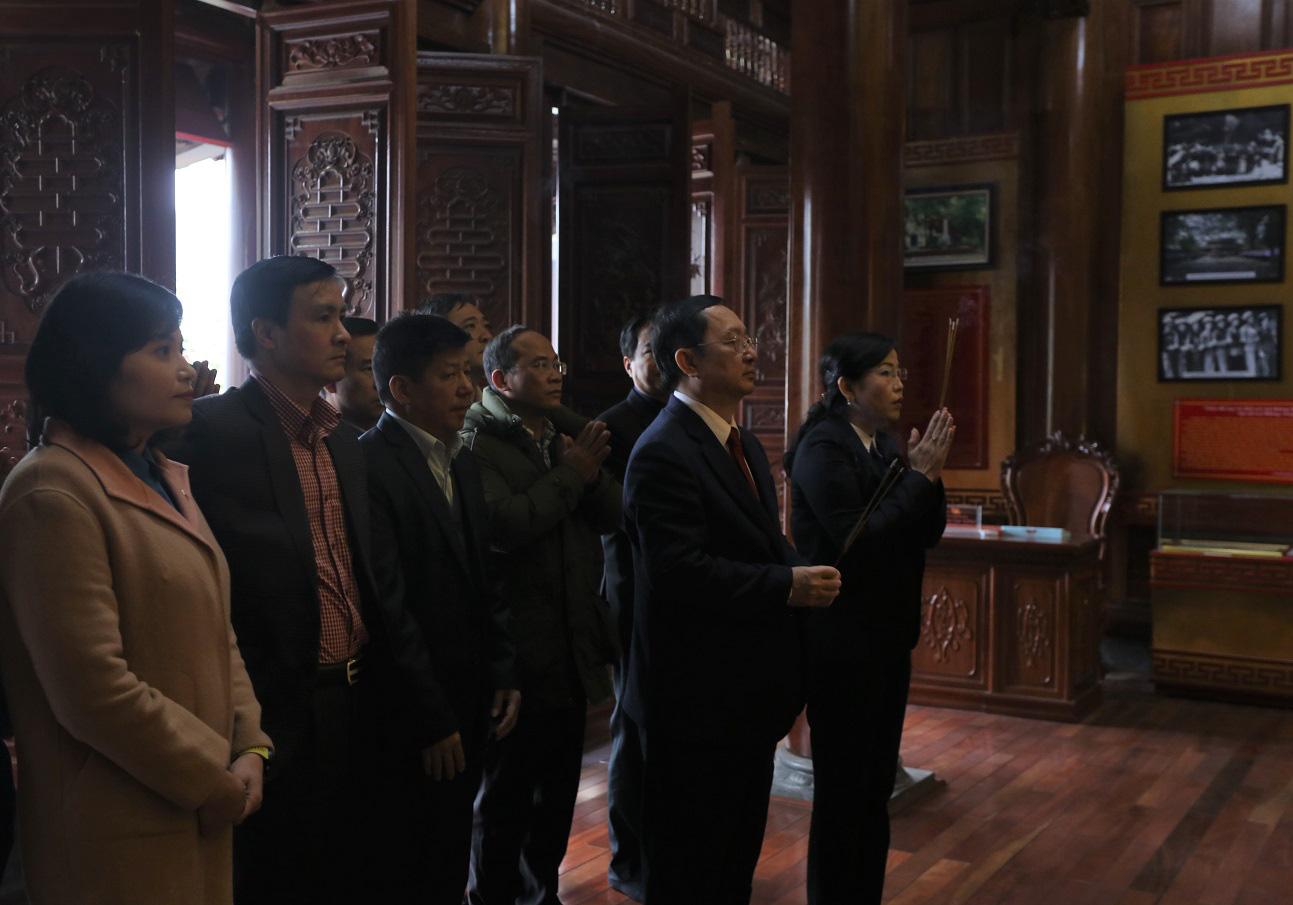 Bộ trưởng Bộ Khoa học và Công nghệ làm việc tại tỉnh Thái Nguyên - Ảnh 12.