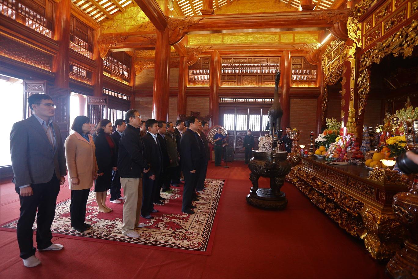 Bộ trưởng Bộ Khoa học và Công nghệ làm việc tại tỉnh Thái Nguyên - Ảnh 11.